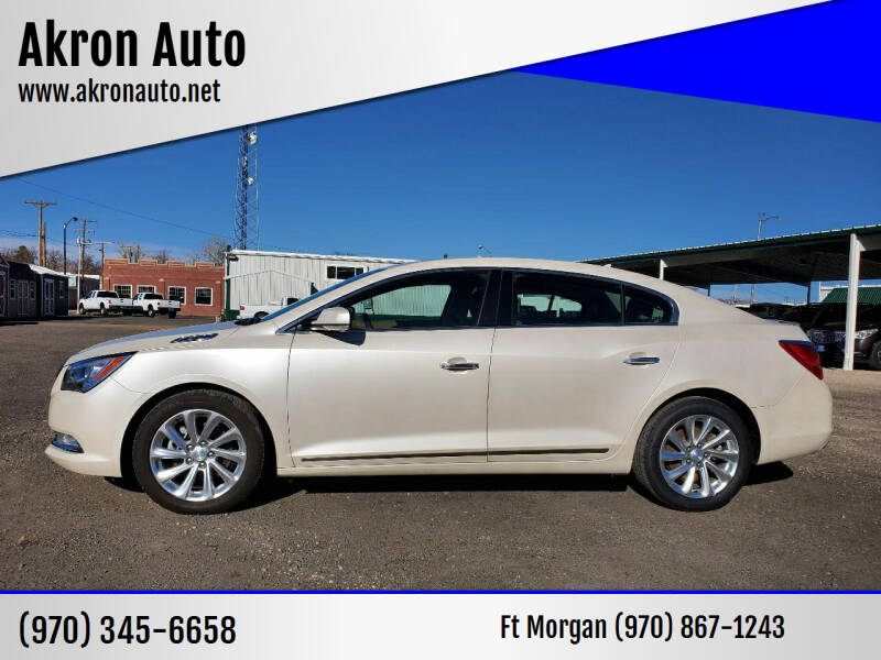 2014 Buick LaCrosse for sale at Akron Auto in Akron CO