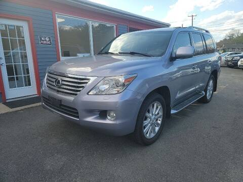 2009 Lexus LX 570 for sale at Top Quality Auto Sales in Westport MA