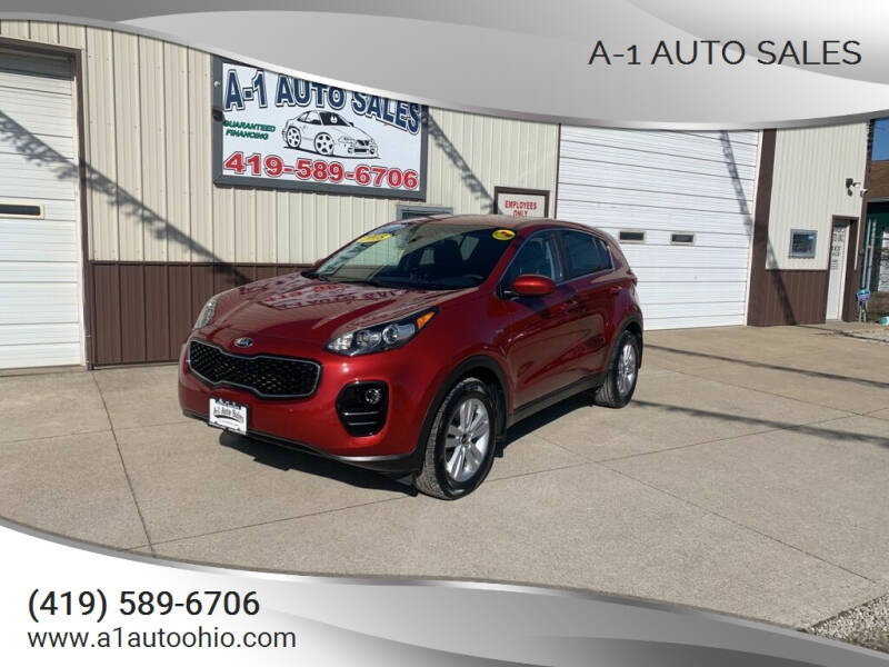 2018 Kia Sportage for sale at A-1 AUTO SALES in Mansfield OH