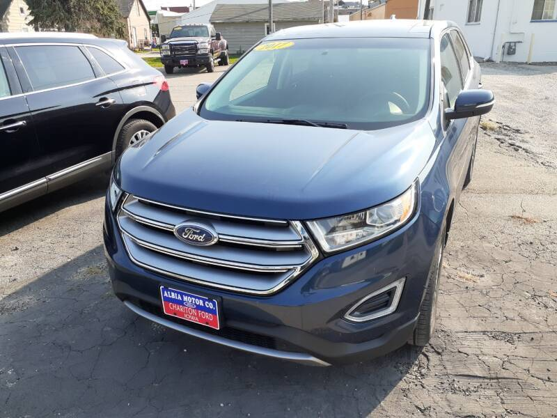 2017 Ford Edge for sale at Albia Motor Co in Albia IA