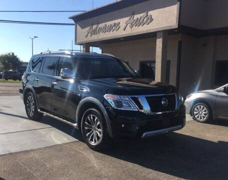 2017 Nissan Armada for sale at Advance Auto Wholesale in Pensacola FL