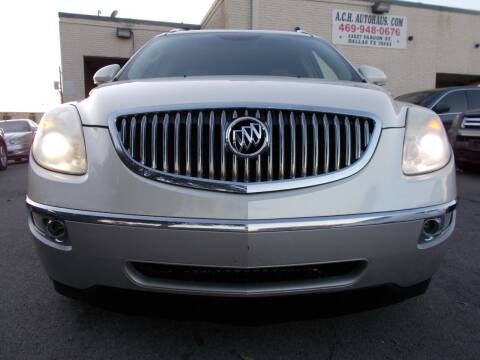 2010 Buick Enclave for sale at ACH AutoHaus in Dallas TX