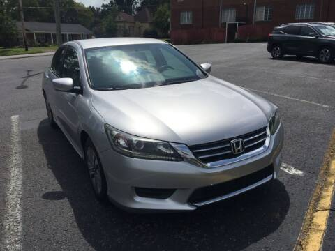 2013 Honda Accord for sale at DEALS ON WHEELS in Moulton AL