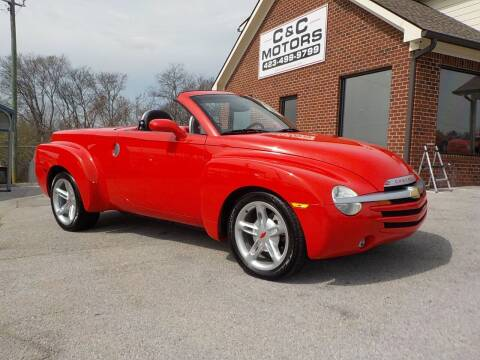 2004 Chevrolet SSR for sale at C & C MOTORS in Chattanooga TN