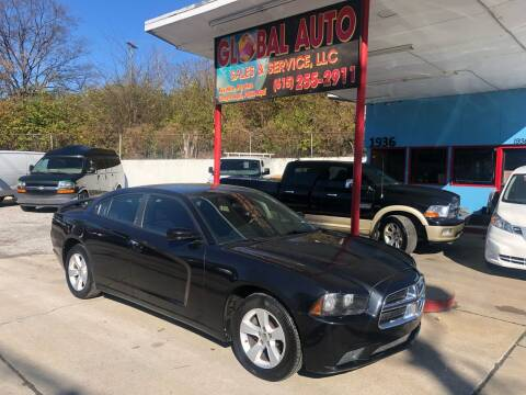 2011 Dodge Charger for sale at Global Auto Sales and Service in Nashville TN