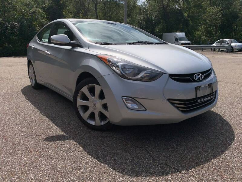 2013 Hyundai Elantra for sale at George Strus Motors Inc. in Newfoundland NJ
