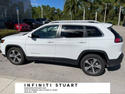 2019 Jeep Cherokee for sale at Infiniti Stuart in Stuart FL