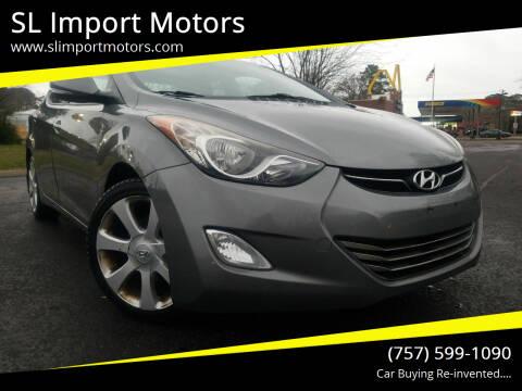 2013 Hyundai Elantra for sale at SL Import Motors in Newport News VA