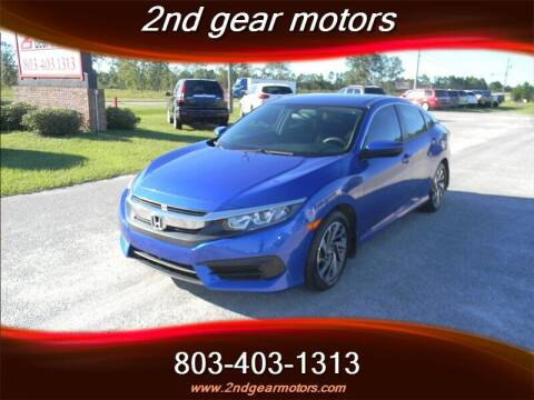 2017 Honda Civic for sale at 2nd Gear Motors in Lugoff SC