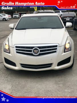 2014 Cadillac ATS for sale at Gralin Hampton Auto Sales in Summerville SC