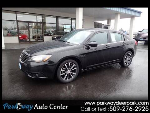 2012 Chrysler 200 for sale at PARKWAY AUTO CENTER AND RV in Deer Park WA
