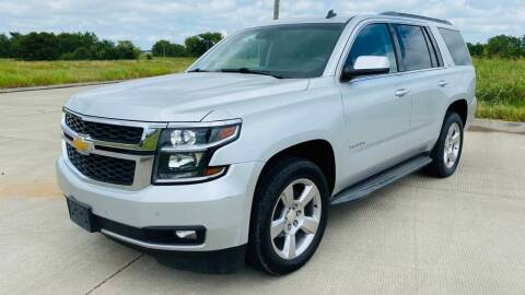 2015 Chevrolet Tahoe for sale at The Truck Shop in Okemah OK