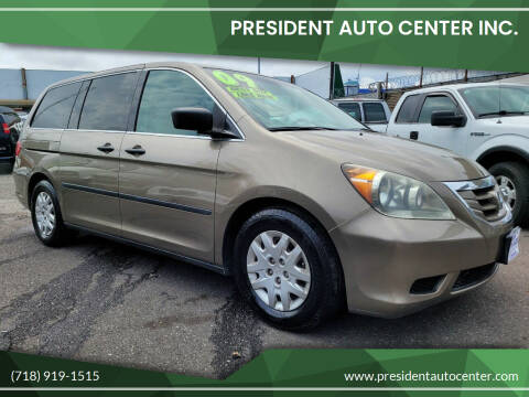 2009 Honda Odyssey for sale at President Auto Center Inc. in Brooklyn NY