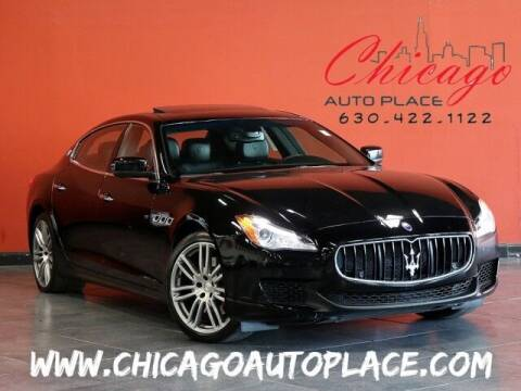 2016 Maserati Quattroporte for sale at Chicago Auto Place in Bensenville IL