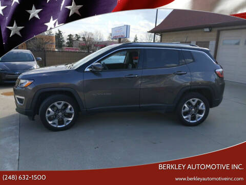 2019 Jeep Compass for sale at Berkley Automotive Inc. in Berkley MI