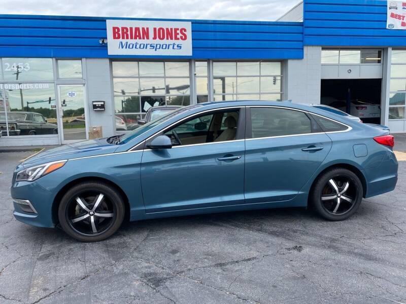 2015 Hyundai Sonata for sale at Brian Jones Motorsports Inc in Danville VA