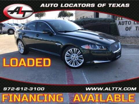 2012 Jaguar XF for sale at AUTO LOCATORS OF TEXAS in Plano TX