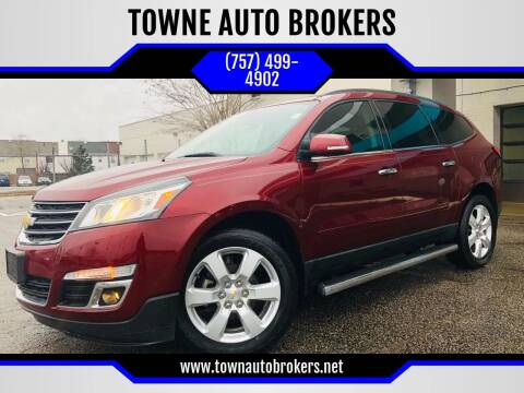 2016 Chevrolet Traverse for sale at TOWNE AUTO BROKERS in Virginia Beach VA