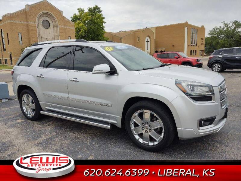 2016 GMC Acadia for sale at Lewis Chevrolet Buick of Liberal in Liberal KS