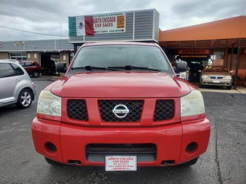 2005 Nissan Titan for sale at North Chicago Car Sales Inc in Waukegan IL