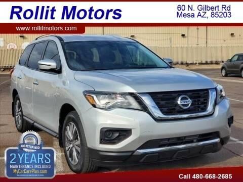 2019 Nissan Pathfinder for sale at Rollit Motors in Mesa AZ