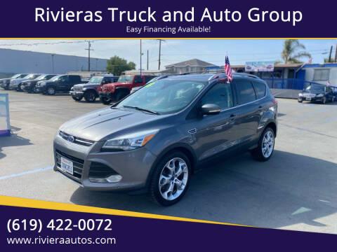 2013 Ford Escape for sale at Rivieras Truck and Auto Group in Chula Vista CA