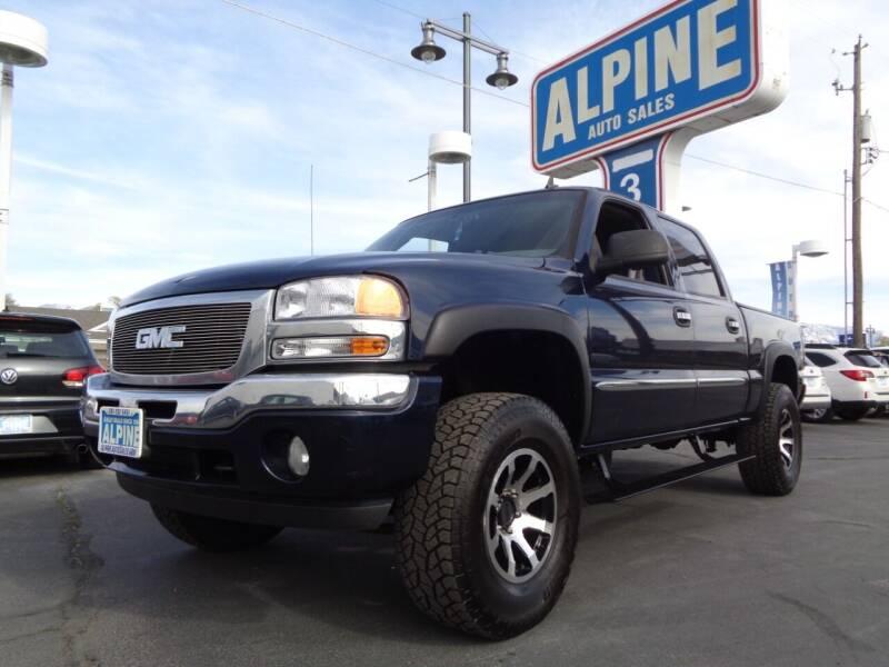 2006 GMC Sierra 1500 for sale at Alpine Auto Sales in Salt Lake City UT