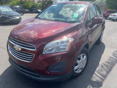 2016 Chevrolet Trax for sale at Right Place Auto Sales in Indianapolis IN
