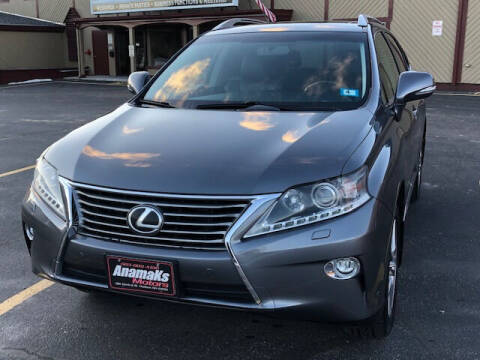 2015 Lexus RX 350 for sale at Anamaks Motors LLC in Hudson NH