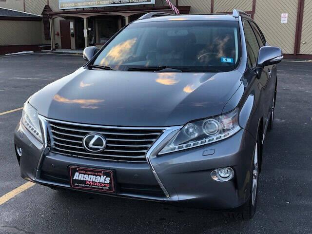 2015 Lexus RX 350 for sale at Anamaks Motors LLC in Hudson NH