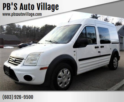 2011 Ford Transit Connect for sale at PB'S Auto Village in Hampton Falls NH