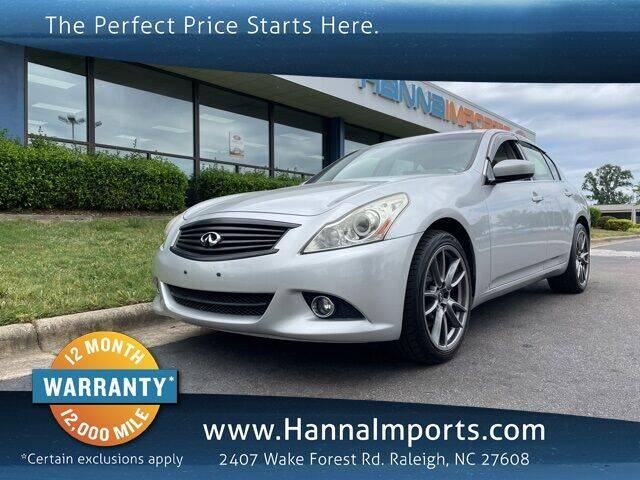 2012 Infiniti G37 Sedan for sale in Raleigh, NC