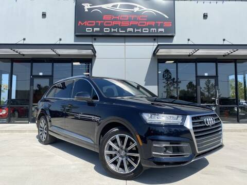 2017 Audi Q7 for sale at Exotic Motorsports of Oklahoma in Edmond OK