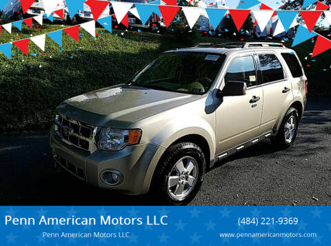 2012 Ford Escape for sale at Penn American Motors LLC in Allentown PA