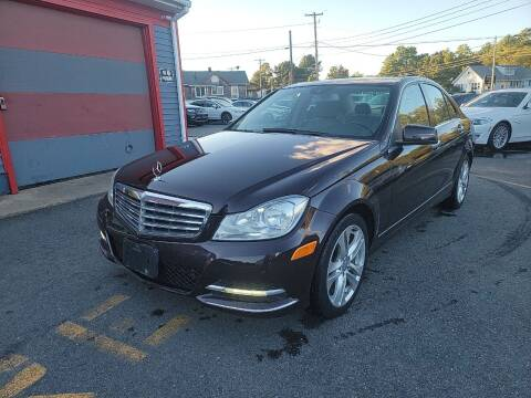 2012 Mercedes-Benz C-Class for sale at Top Quality Auto Sales in Westport MA