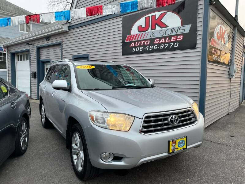2010 Toyota Highlander for sale at JK & Sons Auto Sales in Westport MA