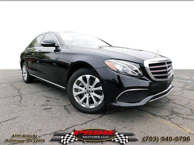 2018 Mercedes-Benz E-Class for sale at PRIME MOTORS LLC in Arlington VA