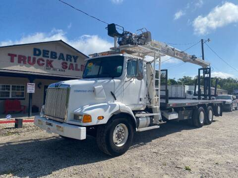 2001 Western Star BOOM FLATBED for sale at DEBARY TRUCK SALES in Sanford FL