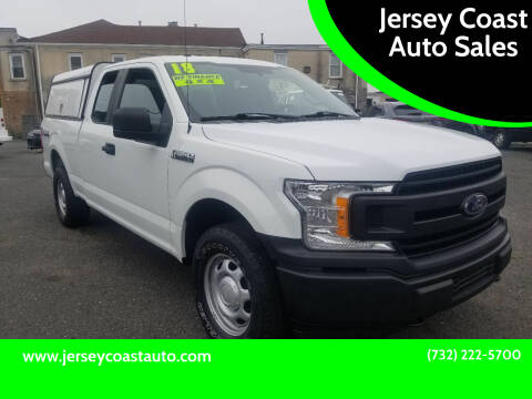 2018 Ford F-150 for sale at Jersey Coast Auto Sales in Long Branch NJ