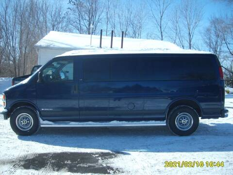 2000 Chevrolet Express Passenger for sale at Northport Motors LLC in New London WI