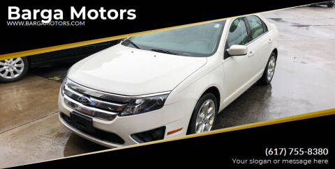2011 Ford Fusion for sale at Barga Motors in Tewksbury MA