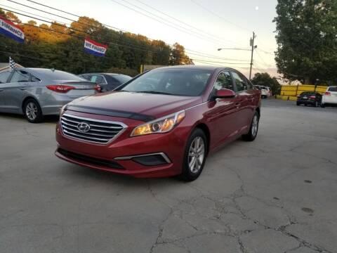 2016 Hyundai Sonata for sale at DADA AUTO INC in Monroe NC