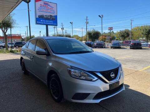 2016 Nissan Sentra for sale at Magic Auto Sales in Dallas TX