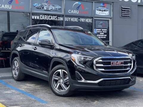 2019 GMC Terrain for sale at CARUCARS LLC in Miami FL