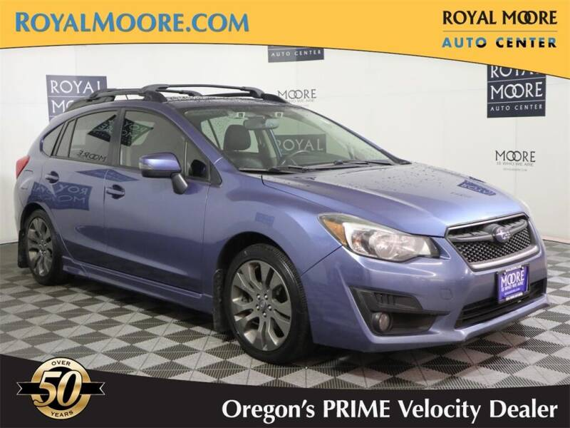 2015 Subaru Impreza for sale at Royal Moore Custom Finance in Hillsboro OR