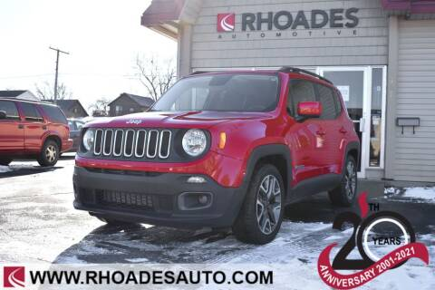 2017 Jeep Renegade for sale at Rhoades Automotive in Columbia City IN