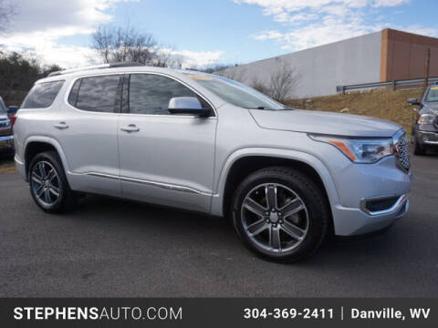 2019 GMC Acadia for sale at Stephens Auto Center of Beckley in Beckley WV