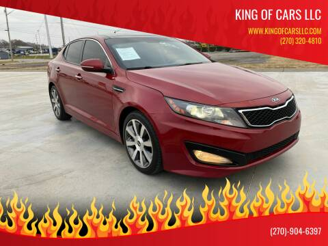 2012 Kia Optima for sale at King of Cars LLC in Bowling Green KY