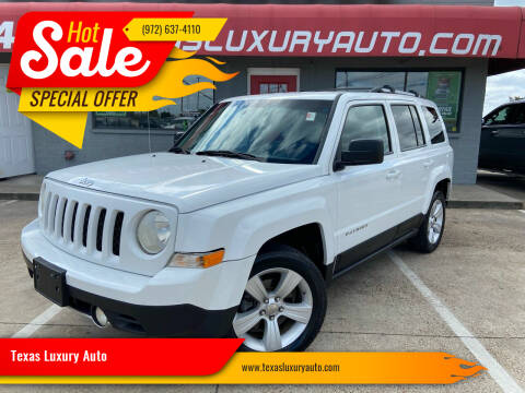 2011 Jeep Patriot for sale at Texas Luxury Auto in Cedar Hill TX