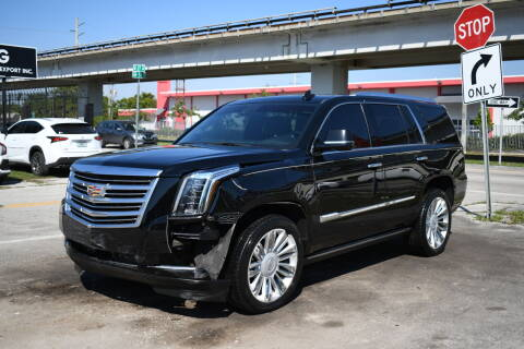 2015 Cadillac Escalade for sale at STS Automotive - Miami, FL in Miami FL